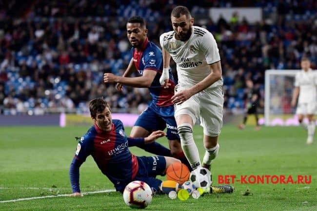 Матч Реал Мадрид — Уэска